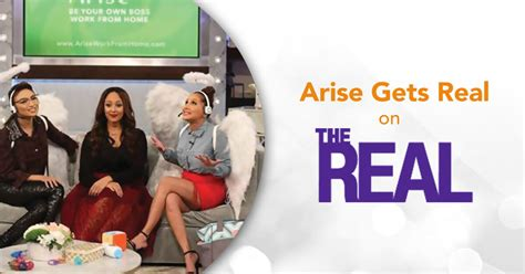 Gets Real by Arise Gets Real Arise Work From Home