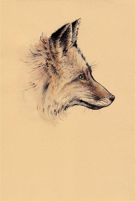 fox drawing tumblr google search tattoo fox drawing