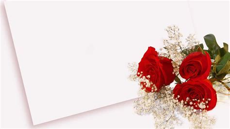 Love letter with red rose   HD Wallpapers Rocks