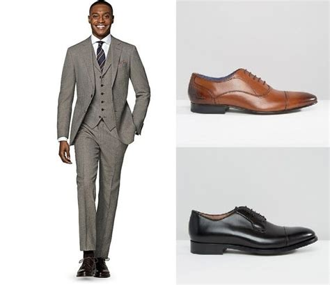 what colors go with brown shoes what color shoes can i wear with my gray suit quora
