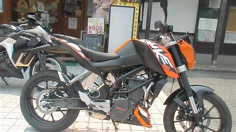 Ktm Duke 200 Racing 2012 Ktm 200 Duke Ready To Race Ktm Japan Doovi