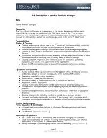 best photos of position job description template free