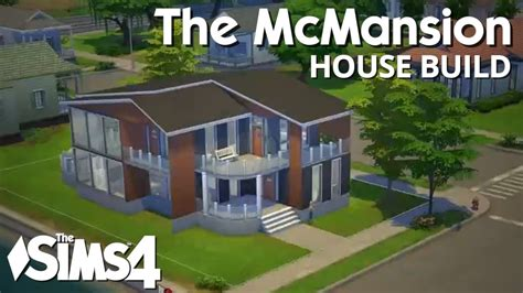 The Sims 4 House Building   The McMansion (The house that