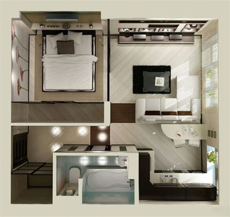 Tiny Apartment Floor Plans by Studio Apartment Floor Plans