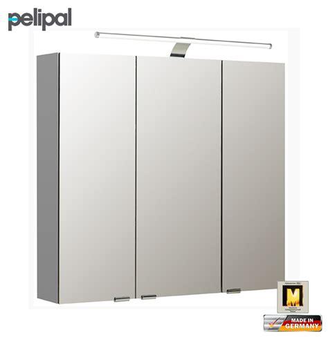 spiegelschrank 80 cm led pelipal neutraler spiegelschrank 80 cm mit led