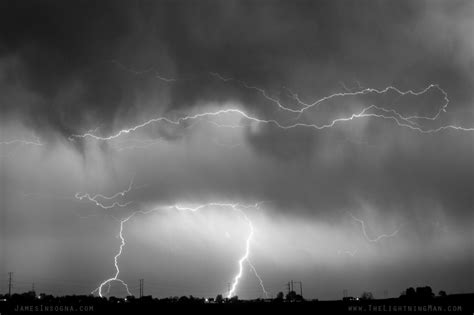 Shower Lightning by May Showers Lightning Thunderstorm Image Bw 5 10 2011