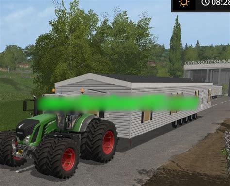 Home Ls by Mobile Home V1 0 Ls2017 Farming Simulator 2017 17 Ls Mod