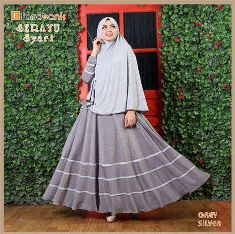 Gamis Menyusui Adem Helbona Grey longdress fashion butiq laman 10