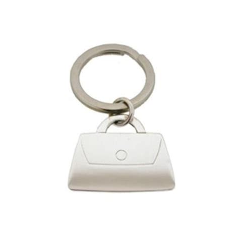solid silver handbag shaped key ring purse keyring jb