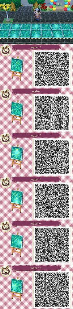 animal crossing water qr codes images animal