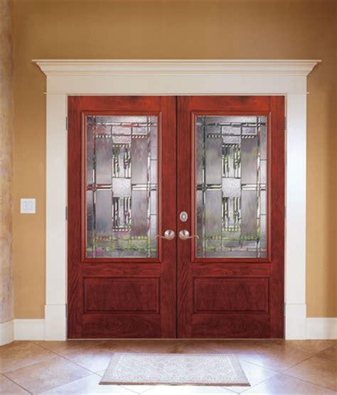 Double entry doors fiberglass door styles