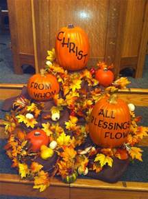 harvest decorations for church fall favorites