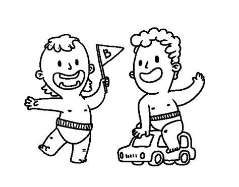 dibujos de ni os jugando para colorear az dibujos para colorear dibujo de unos ni 241 os jugando para colorear dibujos net