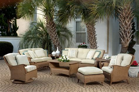 All Weather Wicker Patio Furniture And Dining Sets 26 Outside Wicker Patio Furniture