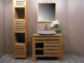 Exceptionnel Mitigeur Salle De Bain Hansgrohe #5: meubles-salle-de-bain-bois-massif-pas-cher.jpg