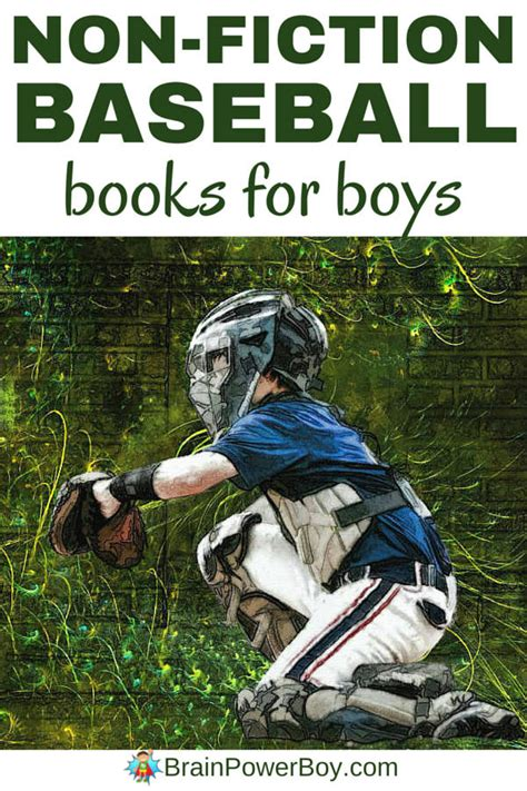 baseball for building boys to books non fiction baseball books that are a grand slam