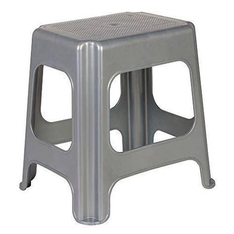 Tabouret Plastique by Okt 2053610 Maxi Tabouret Plastique Argent Achat Vente