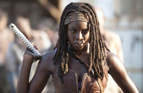 Walking Dead Michonne nothing can save the walking dead s sexist problem the opinioness