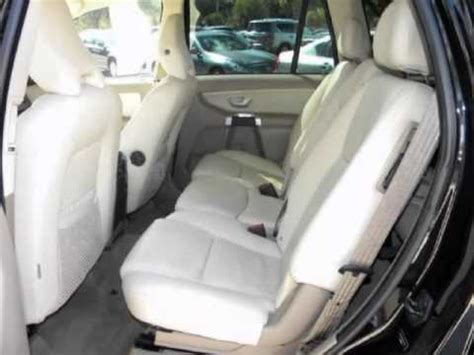 volvo xc90 3rd row seat removal 2010 volvo xc90 fwd 4dr i6 leather power sunroof 3rd row