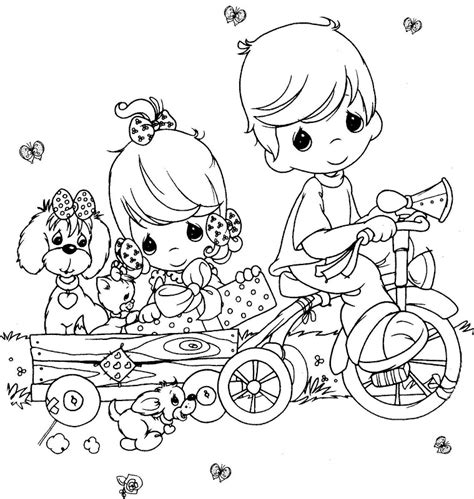 Precious Moments Nativity Coloring Pages precious moments coloring pages az coloring pages