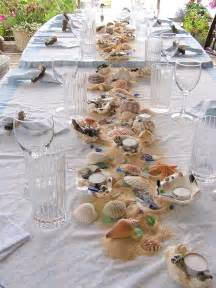 strand dekoration theme table decorations an inspired kitchen