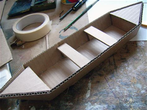 how to build a boat for physics class then i covered the top and bottom with paper first and