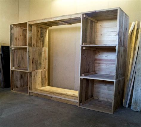how to build a armoire build a dressing room with pallets for free