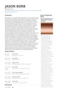 Law Clerk Resume Sample law clerk resume samples visualcv resume samples database