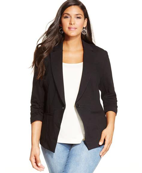Blazer Korea Black Style 3 plus size blazers and jackets oasis fashion