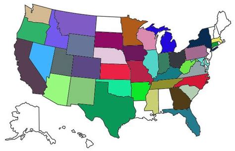 us map states visited visited states map paul brockman maps and