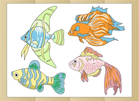 Doodle Drawer by How To Draw Tropical Fishes 8 Steps With Pictures Wikihow