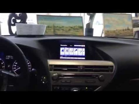 lexus rx navigation system how to use the navigation system in a 2013 lexus rx 350 f