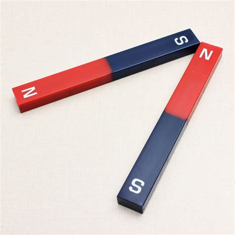 Buy 2PCS Ferrite Physical Experiment Bar Magnet Science