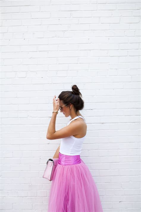 the chic series pink tulle skirt by shabby apple