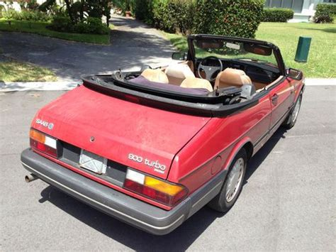 automotive air conditioning repair 1987 saab 900 windshield wipe control buy used 1987 saab 900 turbo convertible in miami beach florida united states for us 1 150 00