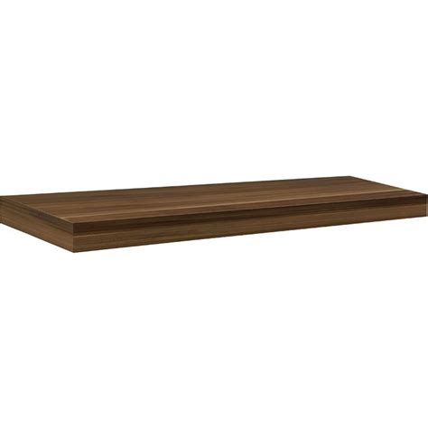 big boy floating shelf walnut 35 5 quot decorating