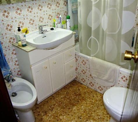reforma completa en  cuarto de bano toilet pedestal