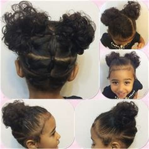 little moe hair style side twists with curls mixed babies hairstyles miyah