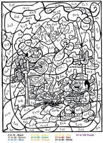color by number adults color by number coloring pages