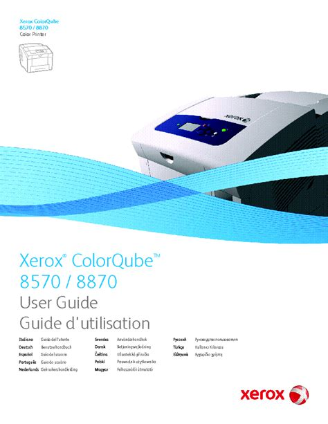 Xerox Colorqube 8570 8870 Usermanual Service Manual