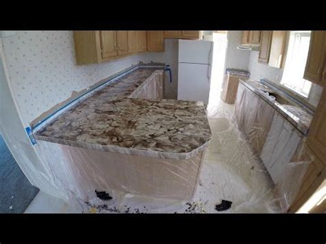 Epoxy Paint For Laminate Countertops by How To Apply Metallic Epoxy Existing Formica Countertops Using Leggari Products