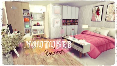 the sims 4 bed cc sims 4 youtuber bedroom dinha