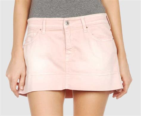 pink denim skirt dress