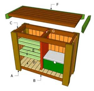 Outside Bar Plans by Build A Deck Bar Modern World Home Design