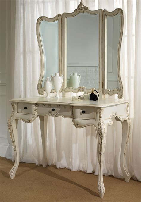 Vintage Vanity Table by Furniture Endearing White Mirror Desk For Awesome Home