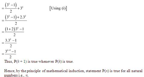 principle of mathematical induction solved problems ncert solutions for class 11th maths chapter 4 principle of mathematical induction