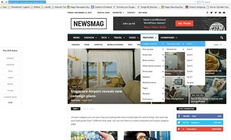 newsmag theme newsmag theme review the ultimate news magazine template