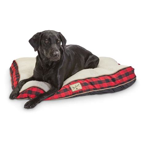 woolrich dog bed woolrich buffalo check gesset dog bed 643998 kennels