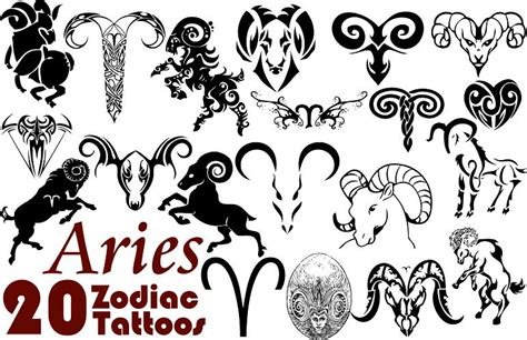 and black ink tribal aries zodiac design 58 tribal zodiac sign tattoos designs