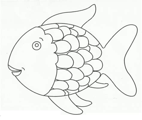 fish coloring page with scales round coloring pages coloring home
